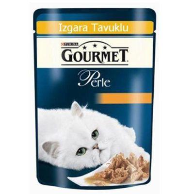 Gourmet - Gourmet Perle Izgara Tavuklu Yaş Kedi Maması 85 Gr