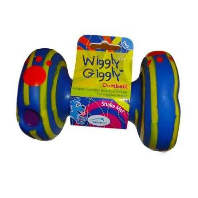 Happy Pet - HappyPet WG57521 Wiggly Giggly Dumbell 15 cm