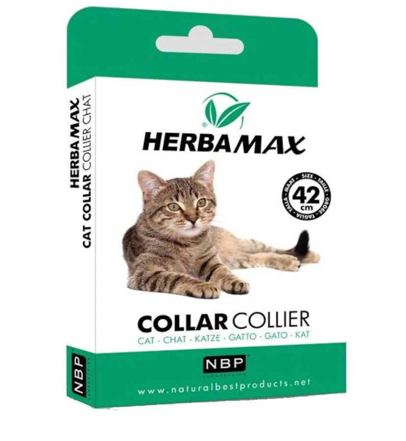 Herba Max Kedi Pire ve Dış Parazit Kene Tasması 42 Cm