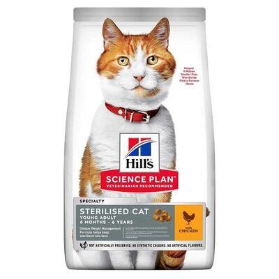 Hills - Hills Adult Tavuklu Kısırlaştırılmış Yetişkin Kedi Maması 3 Kg