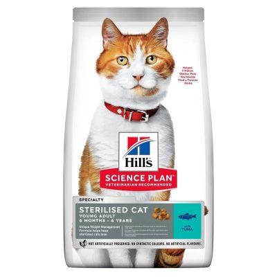 Hills - Hills Adult Ton Balıklı Kısırlaştırılmış Yetişkin Kedi Maması 15 Kg