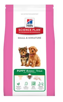 Hills - Hills Puppy Small Mini Küçük Irk Tavuklu Yavru Köpek Maması 1.5Kg