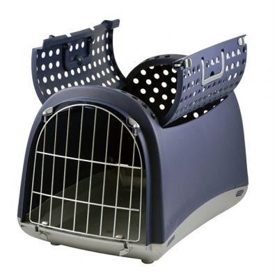 Imac - Imac Linus Cabrio Lacivert Pet Taşıma Kafesi 50x32x34,5 Cm