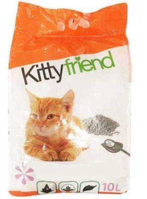 Sanicat - Kitty Friend Topaklaşan Kedi Kumu 10 LT