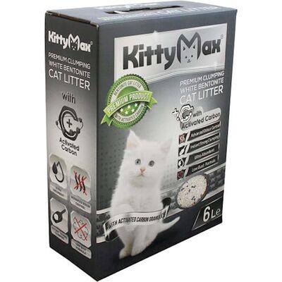 KittyMax - KittyMax Aktif Karbonlu Kedi Kumu 6 L