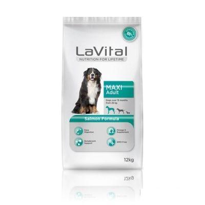 La Vital - LaVital Büyük Irk Somonlu Yetişkin Köpek Maması 12 KG