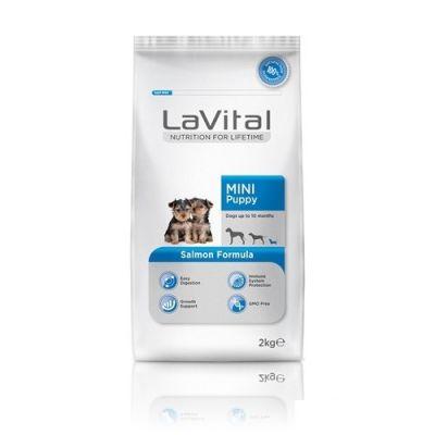 La Vital - LaVital Küçük Irk Somon Balıklı Yavru Köpek Maması 2 Kg