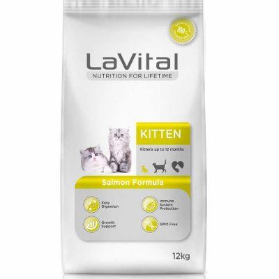 La Vital - LaVital Kitten Somonlu Yavru Kedi Maması 12 KG