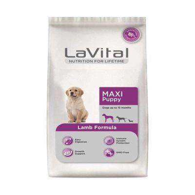 La Vital - La Vital Maxi Puppy Kuzu Etli Büyük Irk Yavru Köpek Maması 3 Kg