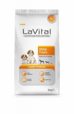 La Vital - LaVital Küçük Irk Kuzu Etli Yavru Köpek Maması 2 Kg