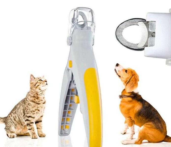 Led Işıklı ve Büyüteçli Kedi Köpek Tırnak Makası