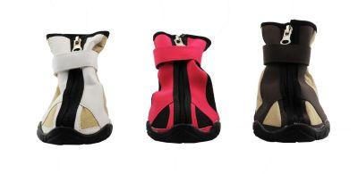 Lion - Lion Fermuarlı ve Cırtcırtlı Köpek Ayakkabısı XL