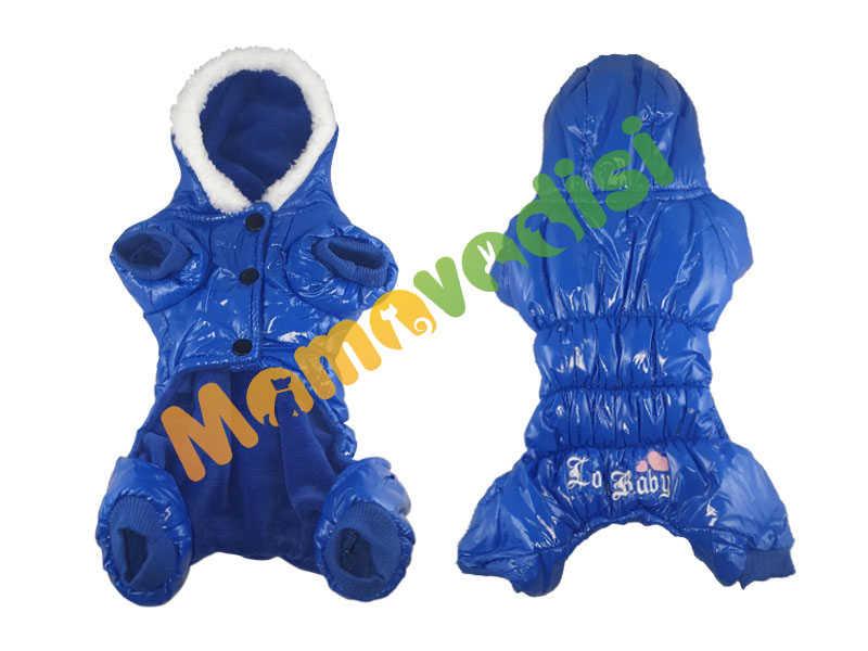 Lion Kapüşonlu Paçalı Yağmurluk 3 Beden Mavi