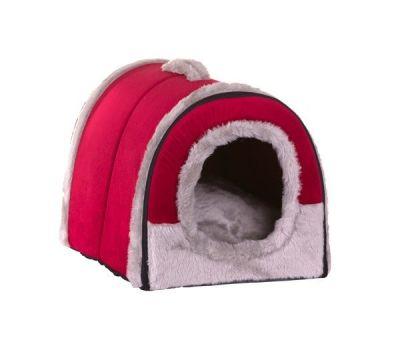 Lion - Lion Kedi Köpek Evi Tutmalı Kırmızı