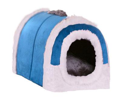 Lion - Lion Kedi Köpek Evi Tutmalı Mavi