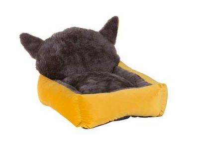 Lion - Lion Kulaklı Kedi Yatağı Sarı