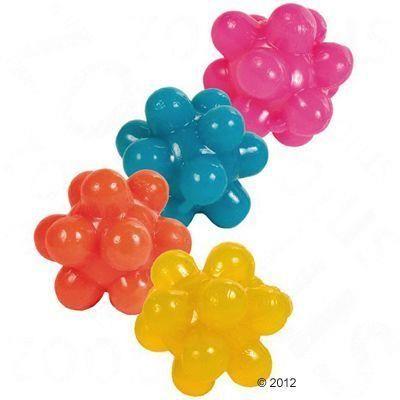 Beeztees - Beeztees Bubble Sert Silikon Renkli Top 3 Cm