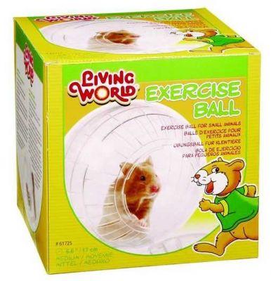 Diğer - Lıvıng World Hamster Topu Standlı 17 Cm