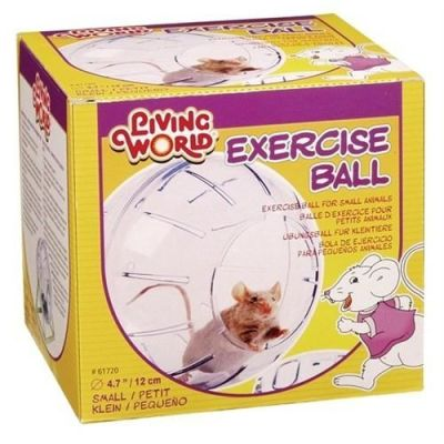 LIVING WORLD - Liwing World Hamster Topu Standlı 12 Cm