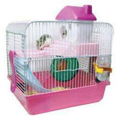 Diğer - Lucky Pet Dream Home HP-12 Hamster Kafesi TURUNCU