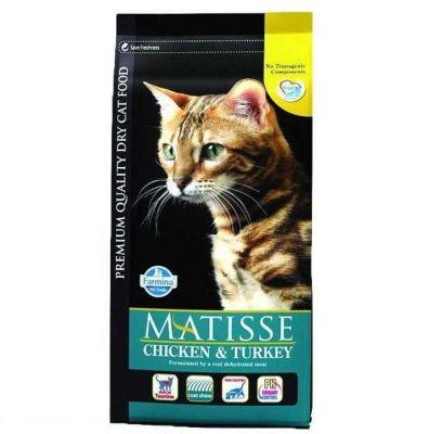 Matisse - Matisse Hindili Sebzeli Yetişkin Kedi Maması 10KG