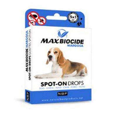 Herba Max - Max Biocide Köpekler İçin Bitkisel Dış Parazit Damlası