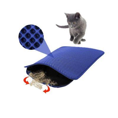 Mia - Mia Cat Elekli Kedi Tuvalet Önü Paspası 60 x 45 cm LACİVERT