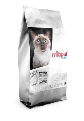 Miapet - Miapet Eco Tavuklu Yetişkin Kedi Maması 15 KG