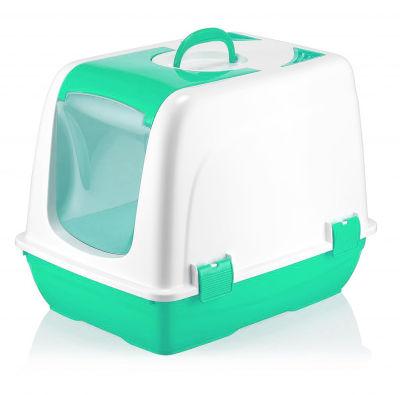 Miapet - Miapet Kapalı Kedi Tuvaleti Yeşil