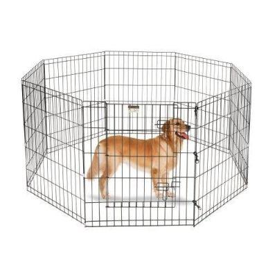 Miapet - Miapet Kedi ve Köpekler İçin Panel Çit 76x61Cm 8 Parça