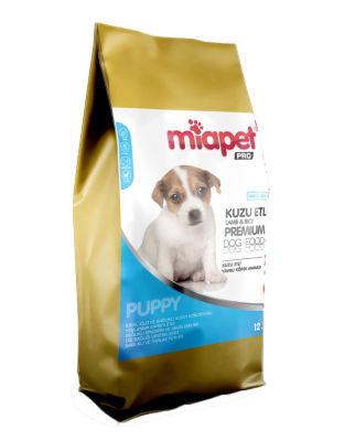 Miapet - Miapet Pro Kuzulu Yavru Köpek Maması 12 KG