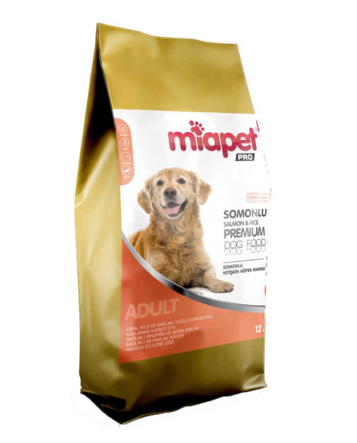Miapet Pro Somonlu Yetişkin Köpek Maması 12 KG
