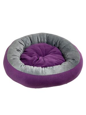 Miapet - Miapet Simit Kedi-Köpek Yatağı 50 cm Mor-Gri