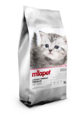 Miapet - Miapet Tavuklu Yavru Kedi Maması 15 KG