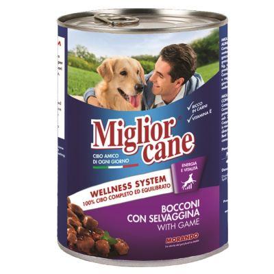 Miglior Gatto - Miglior Cane Av Hayvanlı Köpek Konservesi 405 Gr