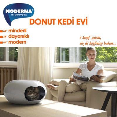 Moderna - Moderna Donut Minderli Kedi Evi