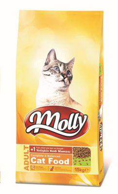 Molly - Molly Adult Yetişkin Kedi Maması 15 KG