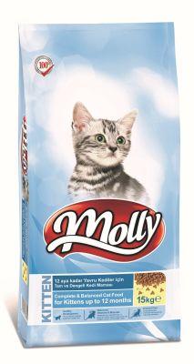 Molly - Molly Kitten Yavru Kedi Maması 15 Kg