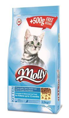 Molly - Molly Yavru Kedi Maması 2.5 Kg