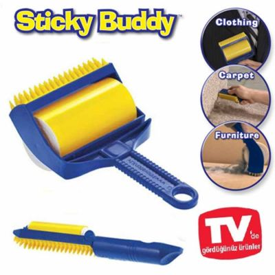 Diğer - Mr.Sticky Buddy Yıkanabilen Tüy ve Toz Toplama Rulosu