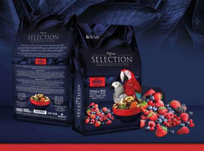 MyYem - Myyem Selection 10 Çeşit Gerçek Meyveli Papağan Yemi 750gr