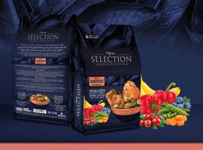 MyYem - Myyem Selection Yaban Mersini Kırmızı Biber ve KuşburnuluGuıneapıg Yemi 750 gr