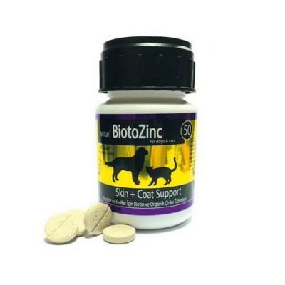 Natur - Natur Bioto Zinc Deri Tüy Sağlığı İçin Vitamin Mineral 50 Tablet