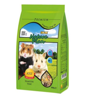 Nature Plan - Nature Plan Hamster Yemi 800 g