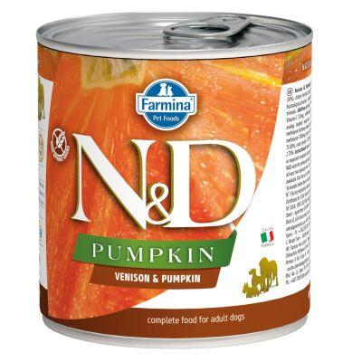 N&D - N&D Balkabaklı Geyikli Köpek Konserve Maması 285 gr