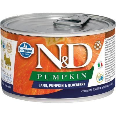 N&D - N&D Balkabaklı Kuzu Etli Köpek Konservesi 140 gr