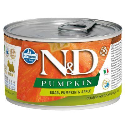 N&D - N&D Balkabaklı Yaban Domuzlu Köpek Konservesi 140 gr
