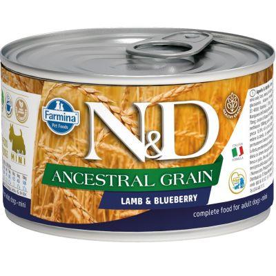 N&D - N&D Düşük Tahıllı Kuzu Etli Köpek Konserve Maması 140 gr