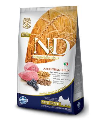N&D - N&D Düşük Tahıllı Kuzulu Küçük Irk Yetişkin Köpek Maması 2,5 Kg