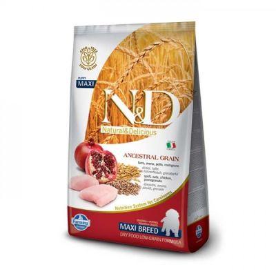 N&D - N&D Düşük Tahıllı Tavuklu Narlı Büyük Irk Yavru Köpek Maması 12KG
